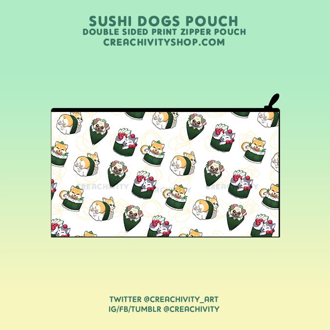 SUSHI DOG POUCH