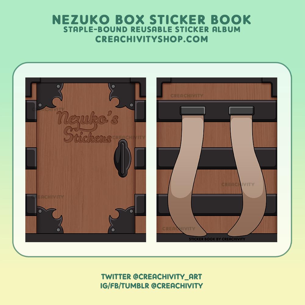 〘ON-HAND〙Kimetsu no Yaiba – Nezuko Box Sticker Album