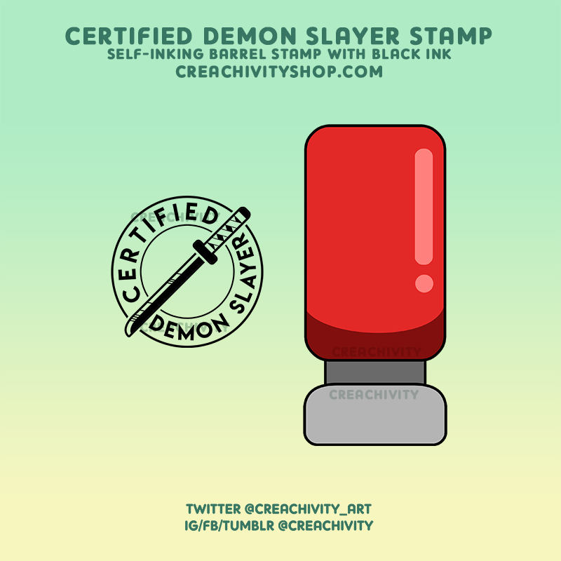 DEMON SLAYER STAMP