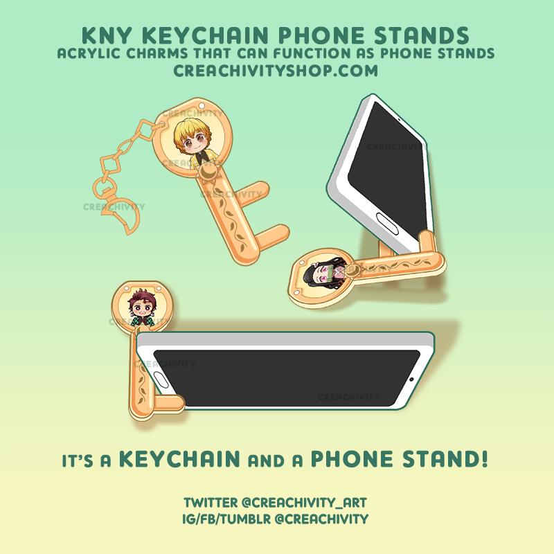 〘ON-HAND〙 Kimetsu no Yaiba Key Phone Stand Charms