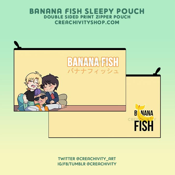 BANANA FISH POUCH