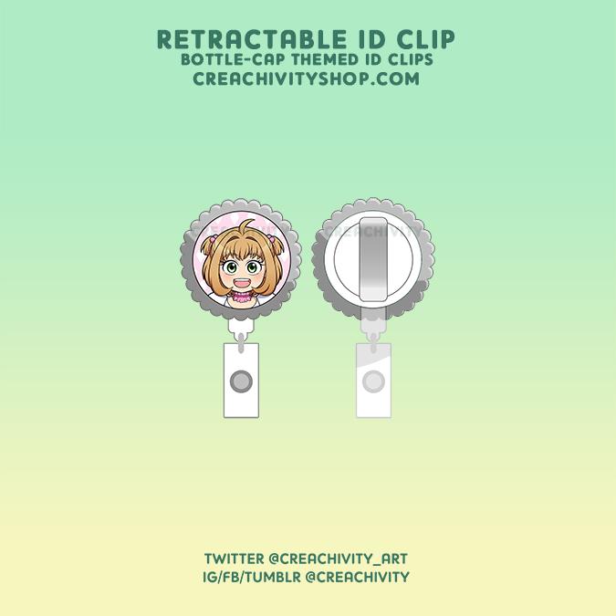 〘ON-HAND〙Cardcaptor Sakura Retractable ID Clips