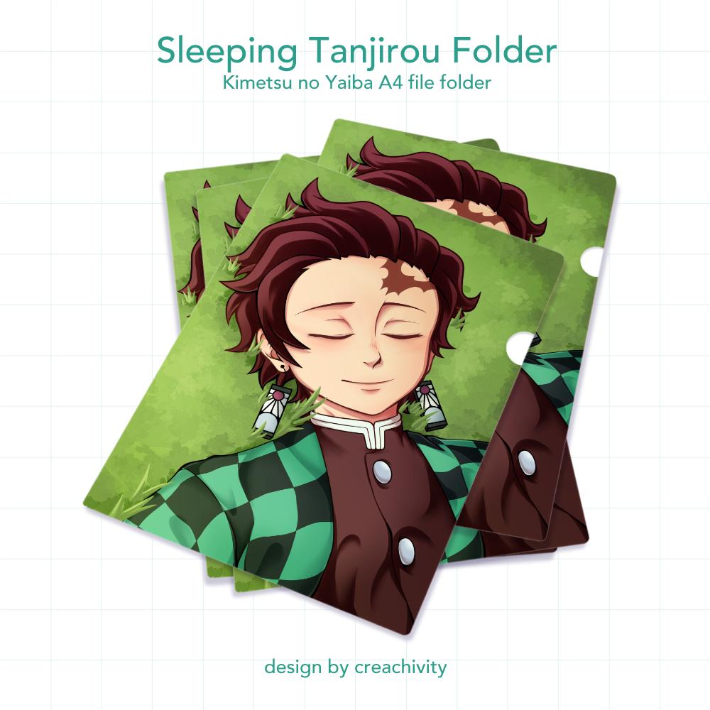 〘PRE-ORDER〙Kimetsu no Yaiba Sleeping Tanjirou File Folder